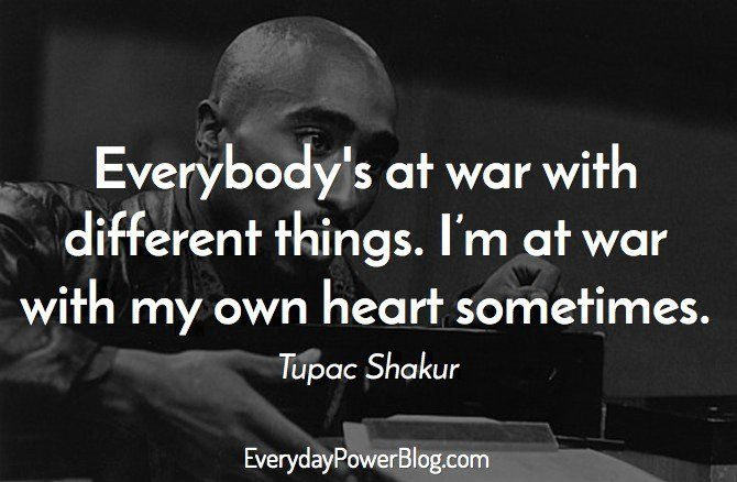 tupac shakur quotes about thug life