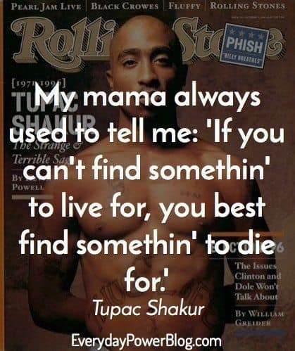 Tupac Quotes About Lif...