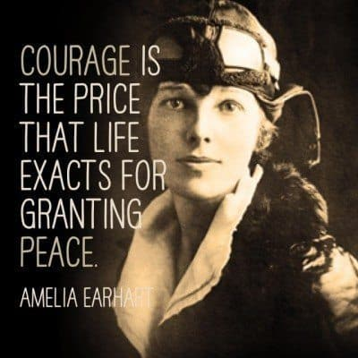 Amelia Earhart Quotes About Life, Flight and Adventure