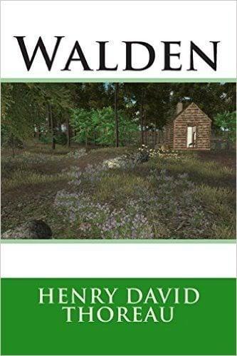 Walden (Henry David Thoreau books for men
