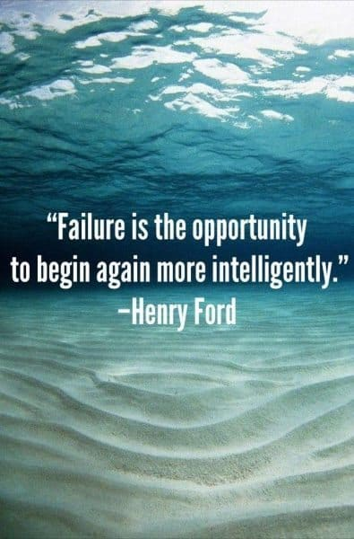 Your way to success will pass through massive failure 4