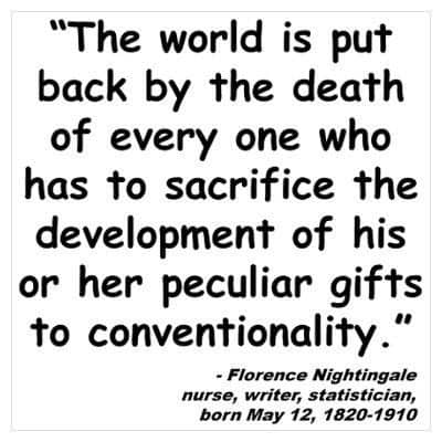 florence nightingale quotes 1