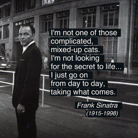 Sinatra Quotes Cool Frank Sinatra Quotes About Life Love And New York