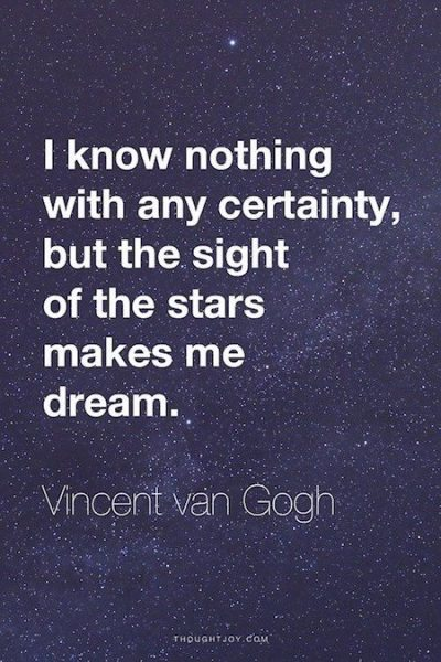 Stars Love Quotes Adorable Vincent Van Gogh Quotes About Life Starry Night And Love