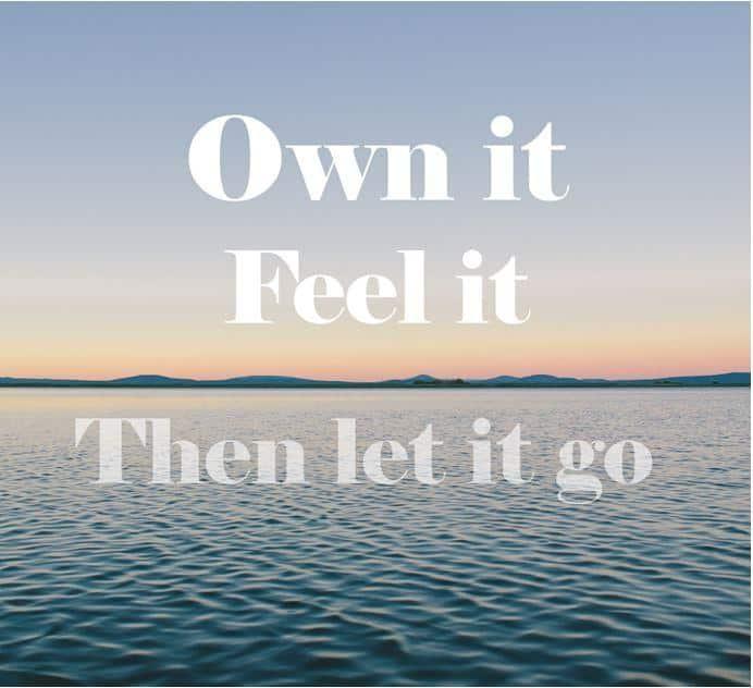 own it feel it