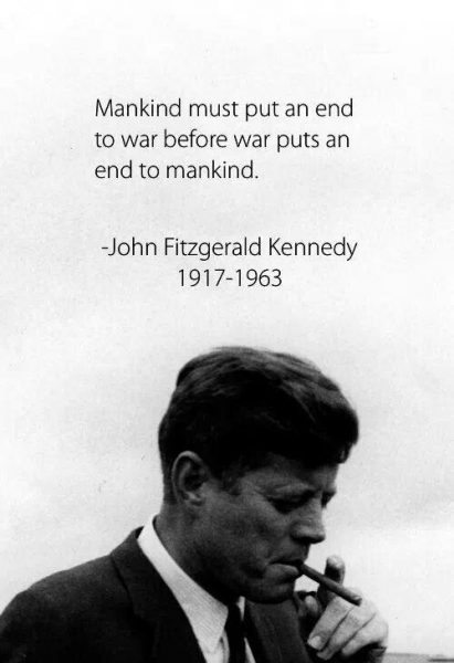 john s kennedy quotes