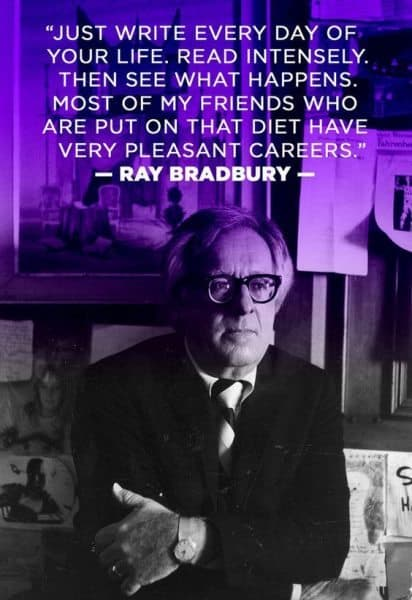 A report on the life of ray bradbury