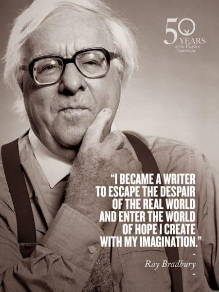 a biography of ray bradbury a writer News outlets around the world are announcing the death of science fiction author ray bradbury at age 91 but it's a description the writer of fahrenheit 451, the martian chronicles and something wicked this way comes found nettlesome.