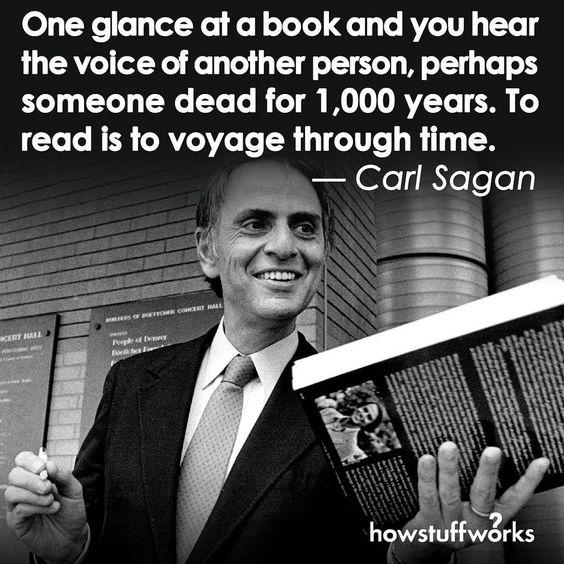 carl sagan quotes about the cosmos and earth