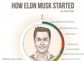 How Elon Musk Started [Infographic]