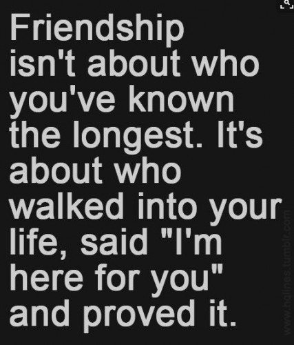 friendship quotes about life