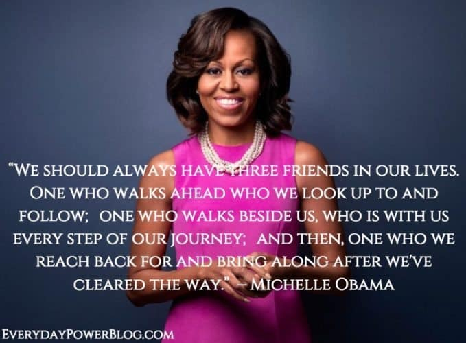 Michelle Obama quotes about friends