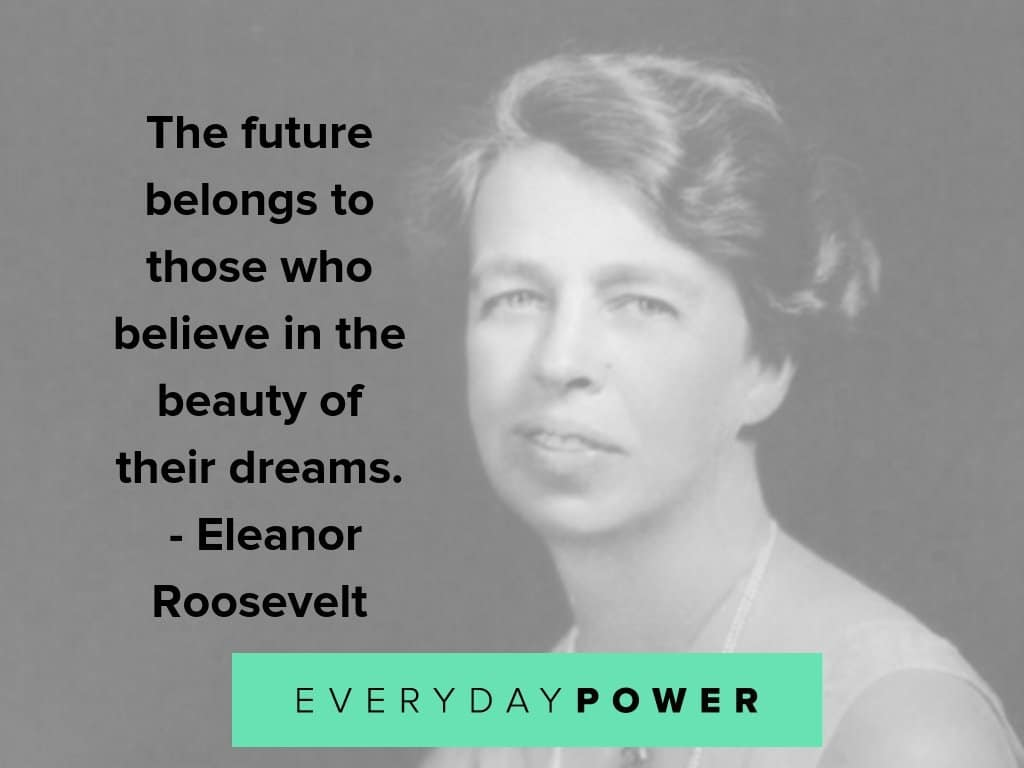 eleanor roosevelt quotes on dreams