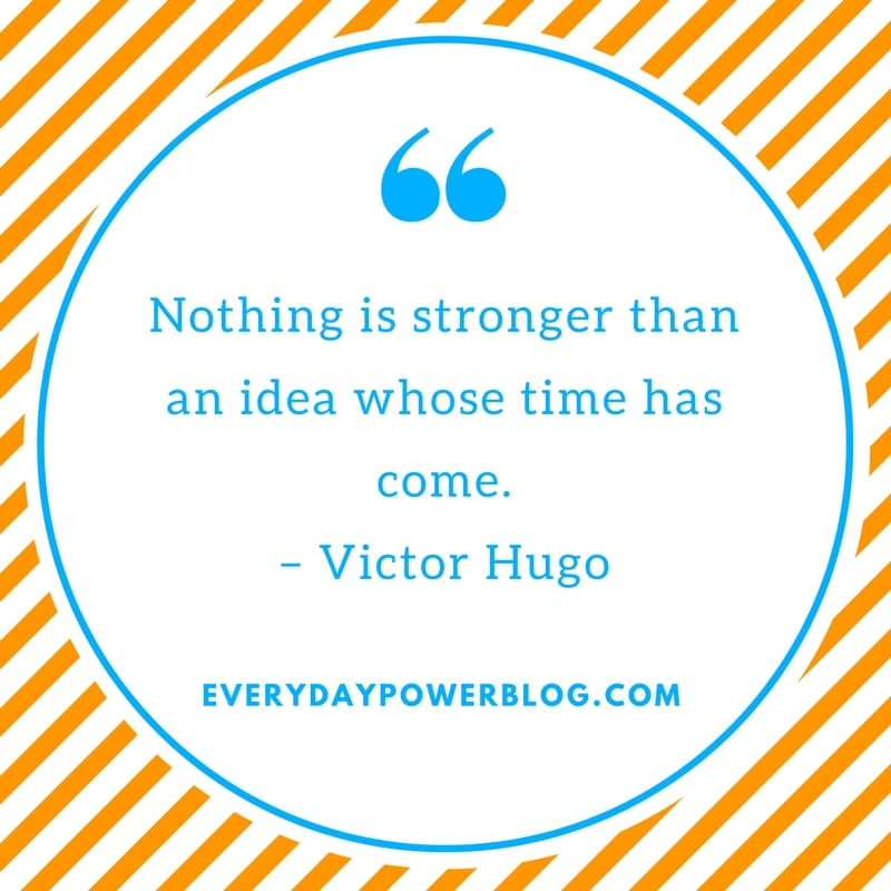victor hugo quotes about ideas
