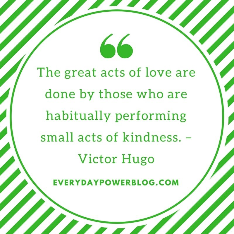 victor hugo quotes about kindness