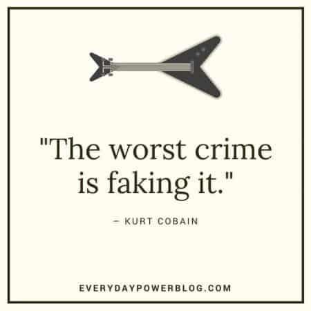 kurt cobain quotes about crime