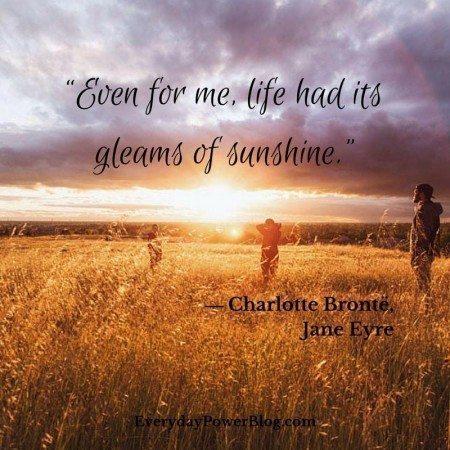 quotes on depression sunshine
