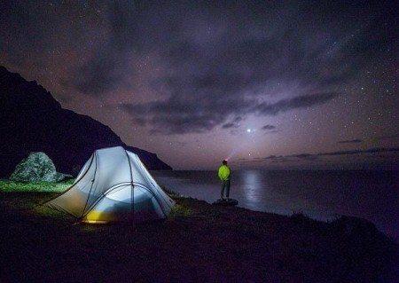 20 things bucket list sleep under stars