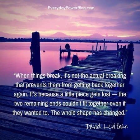 Breaking up and getting back together quotes