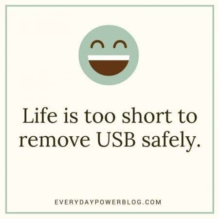 funny quotes and sayings usb