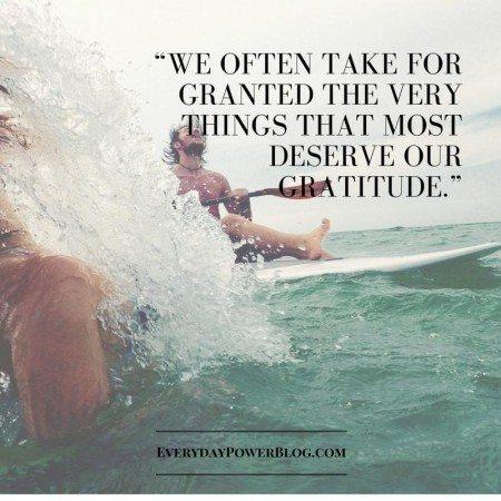 gratitude quotes deserve