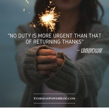 gratitude quotes duty thanks