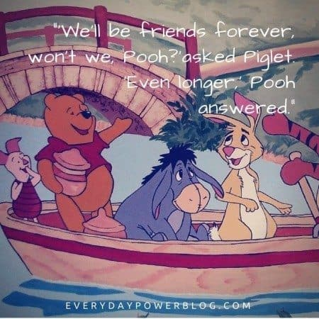 quotes about best friends winnie the pooh
