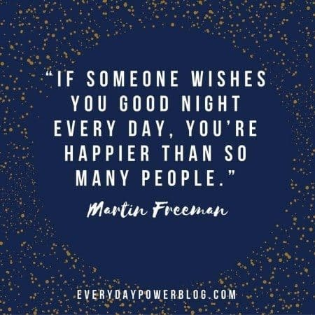 good night quotes people