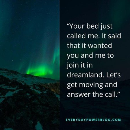 good night quotes bed