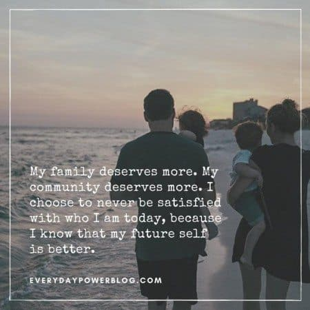social comparison quote family