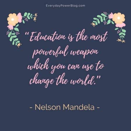 Inspirational Nelson Mandela Quotes About Freedom