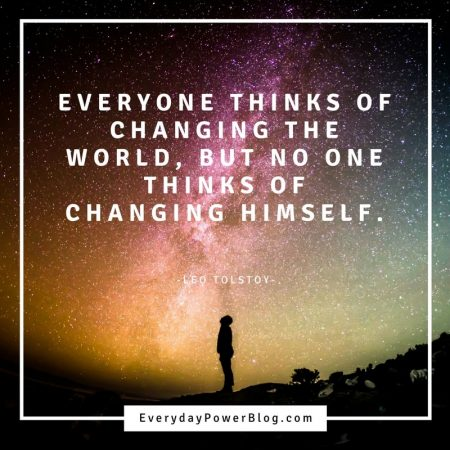 quotes on change in the world