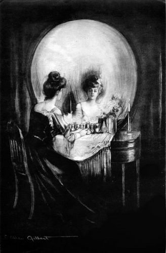 Charles Allan Gilbert Illusion Photo