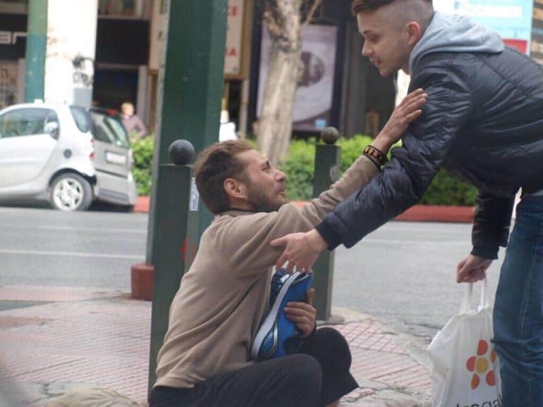 2-Young-Man-Helping-Homeless
