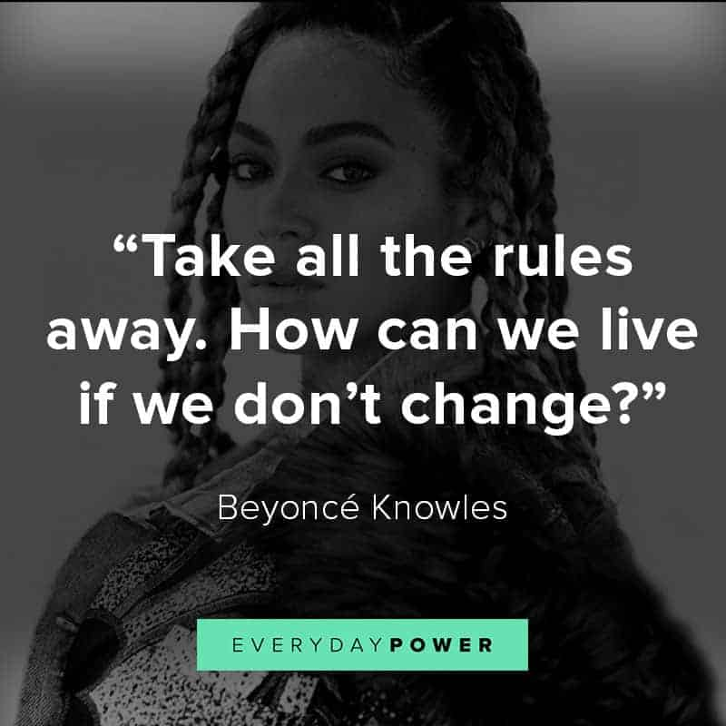 Empowering Beyoncé quotes aboutsuccess and knowing your worth