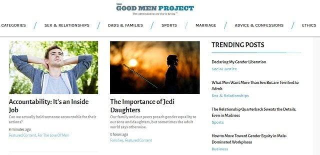best blogs for men