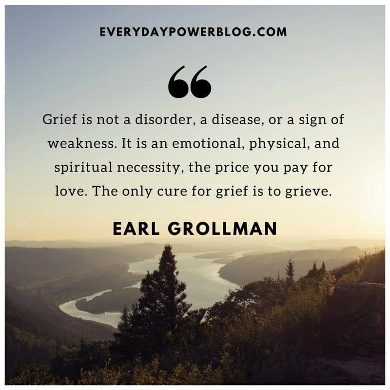 Motivational Quotes For Death Of A Loved One: 35 Helpful Death Quotes On The Ways We Grieve