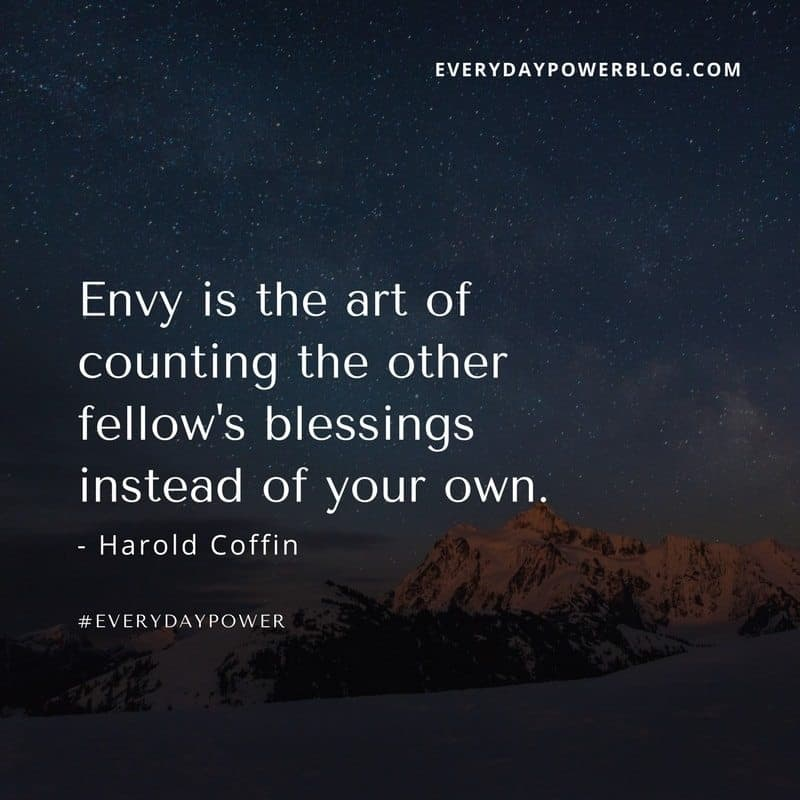 100 Jealousy Quotes About Dealing With Envy  Everyday Power