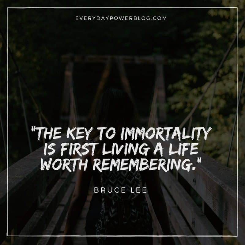 Powerful Bruce Lee Quotes about Life
