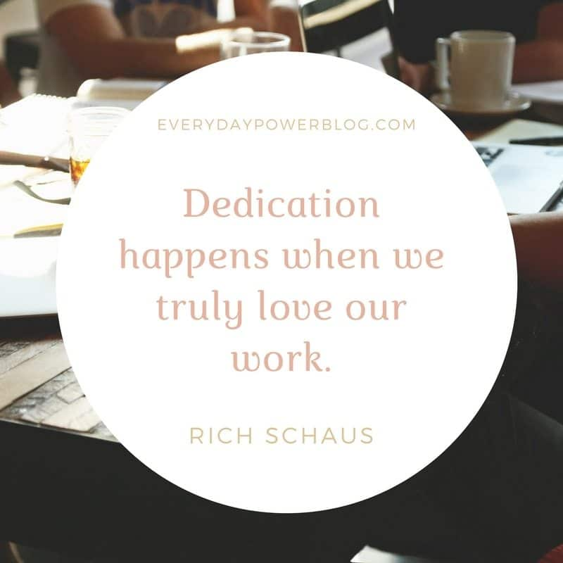 How To Increase Your Dedication To Work