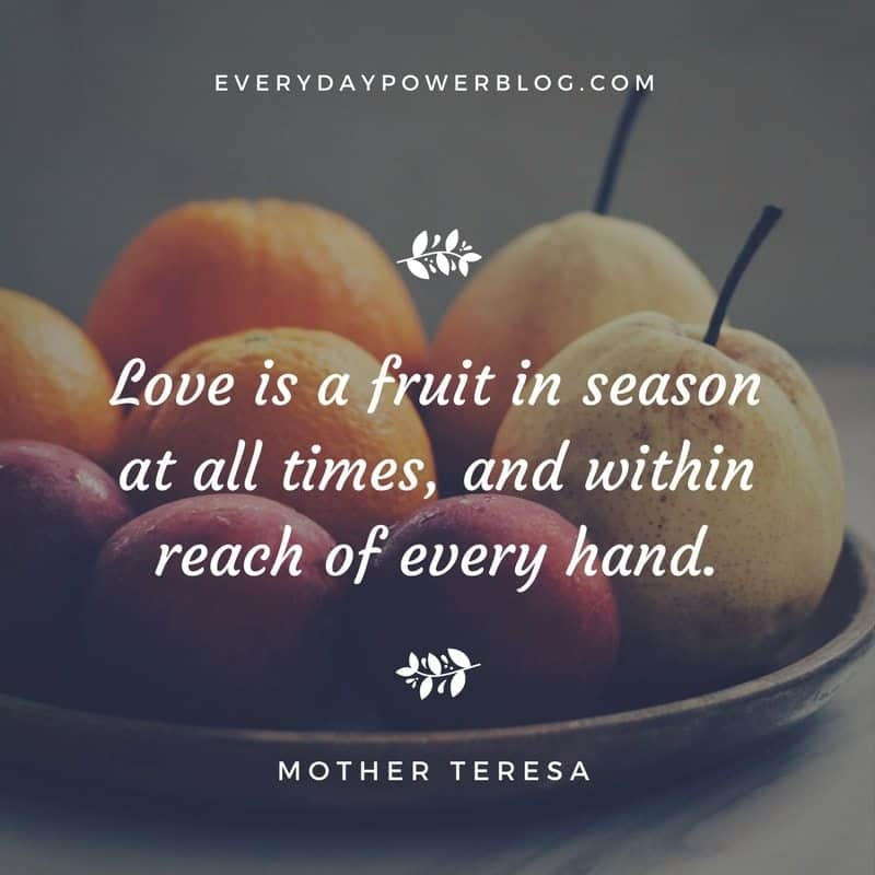 Most Inspiring Quotes By Mother Teresa About Life