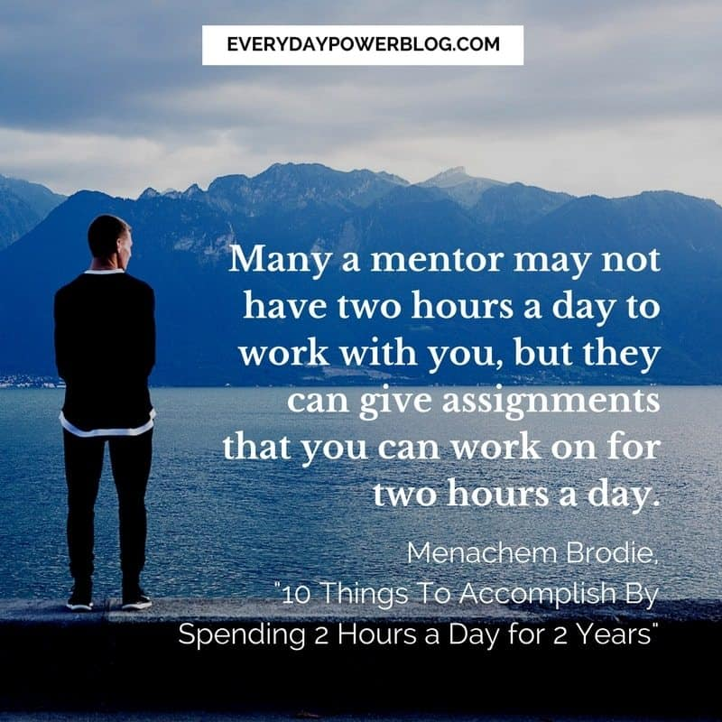 Things To Accomplish By Spending 2 Hours a Day for 2 Years