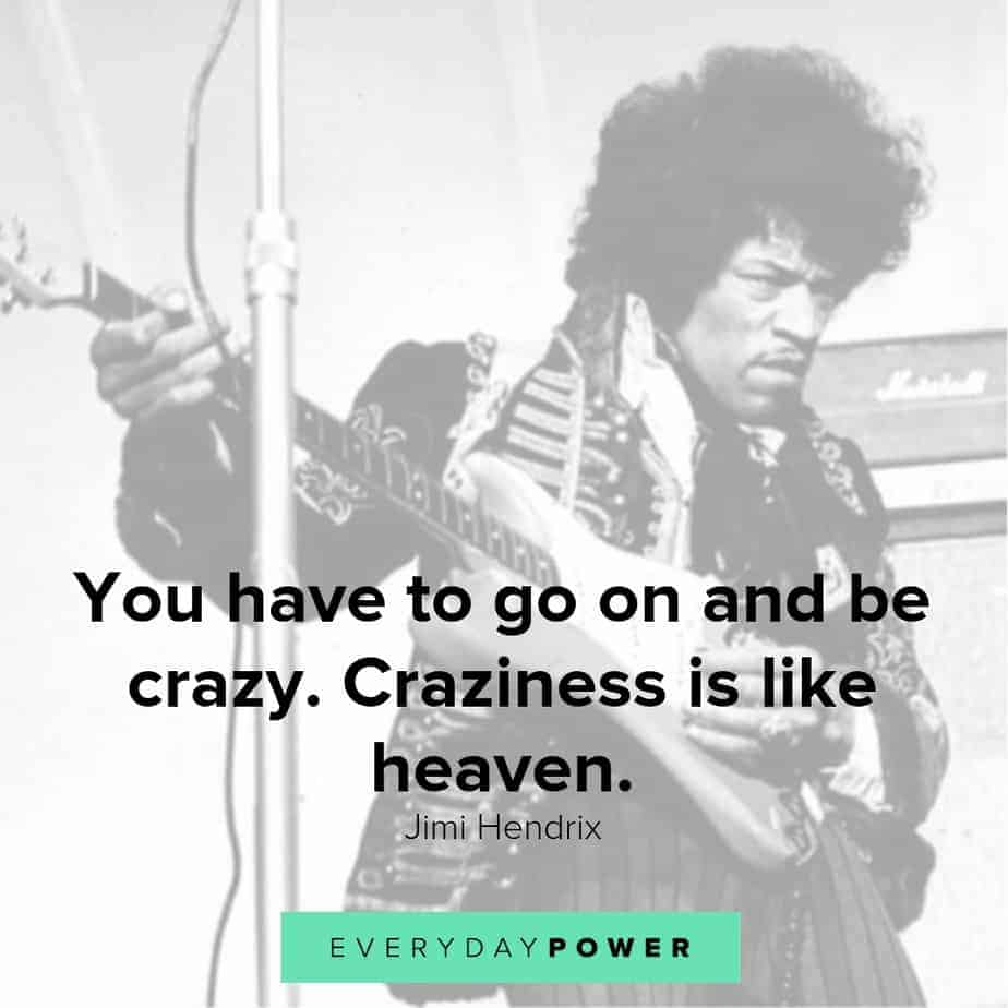 jimi hendrix quotes about heaven