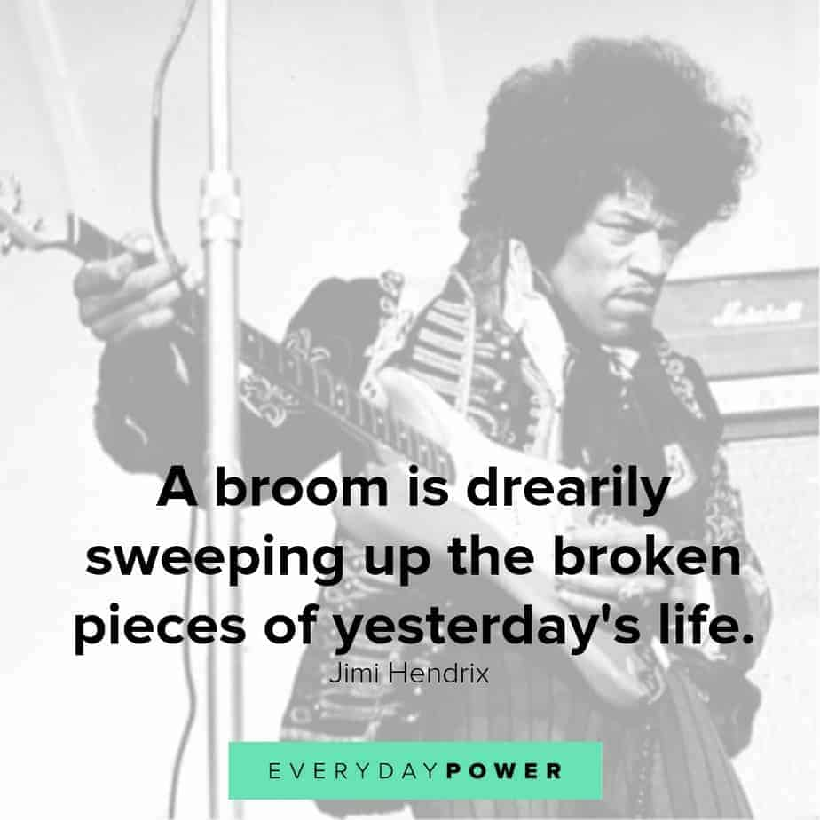 jimi hendrix quotes on life