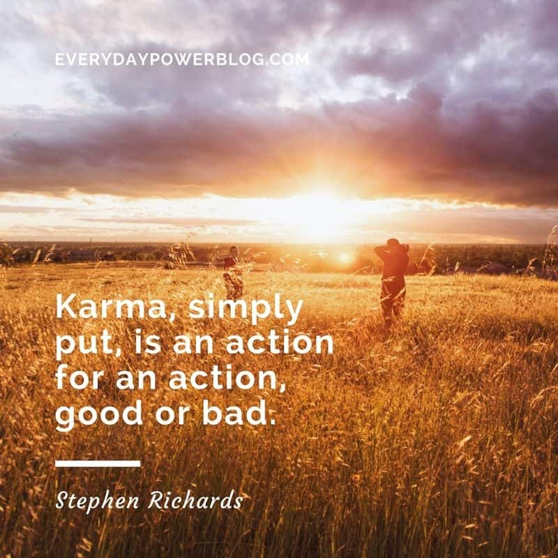 karma quotes about love