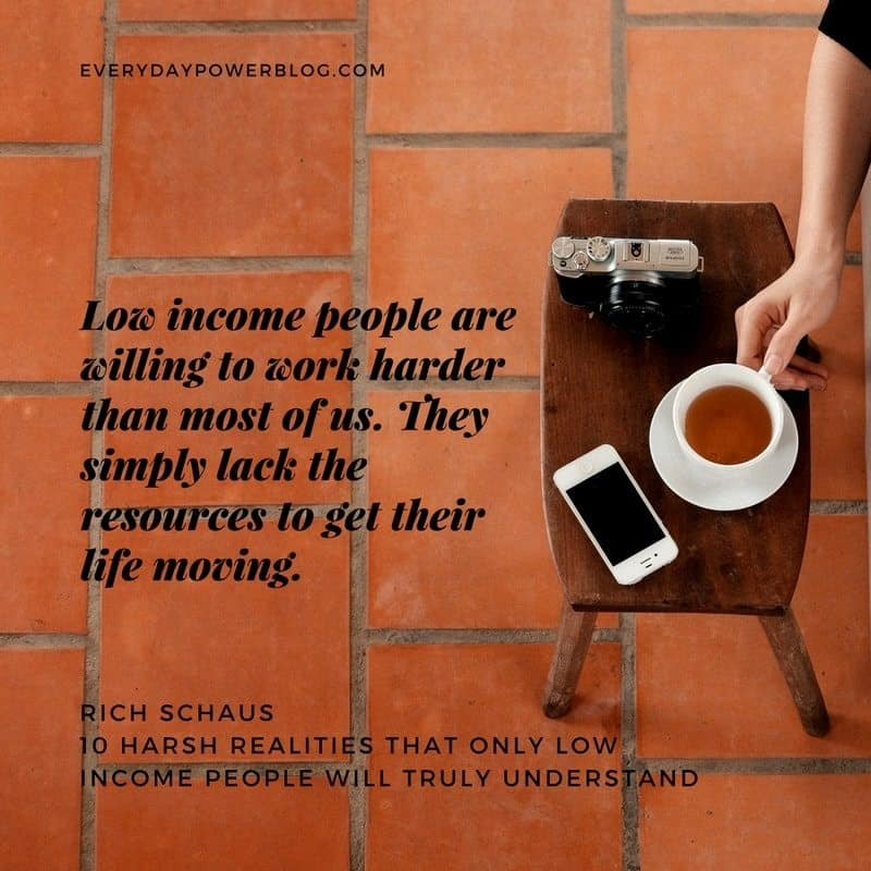 Harsh Realities That Only Low Income People Will Truly Understand