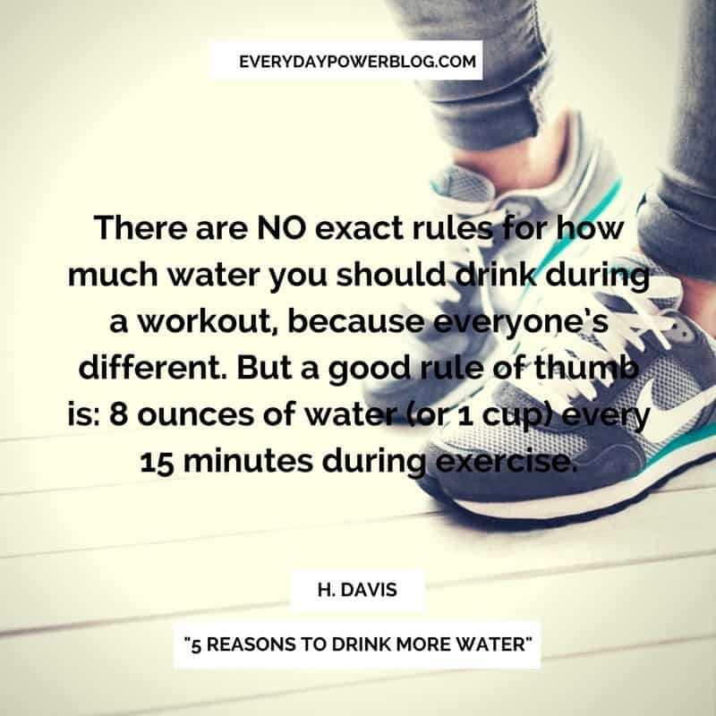 Reasons to Drink More Water
