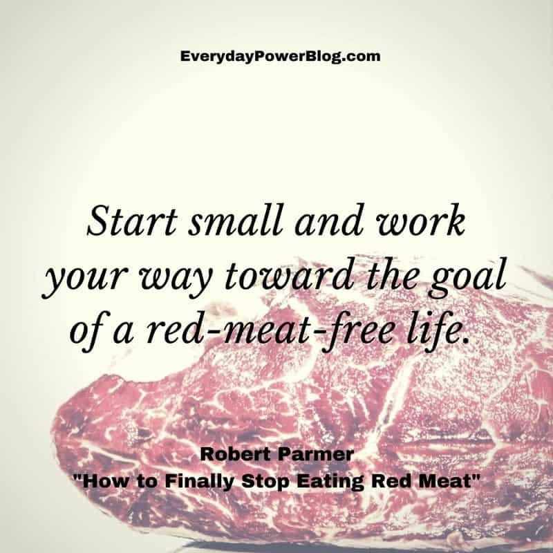 Stop Eating Red Meat