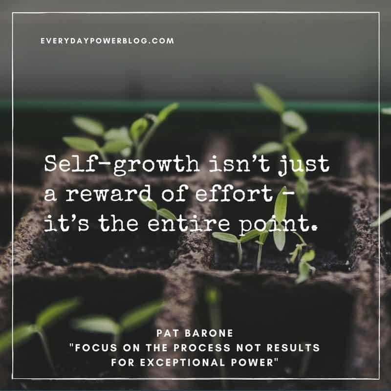 Focus on Effort Not Results for Exceptional Power