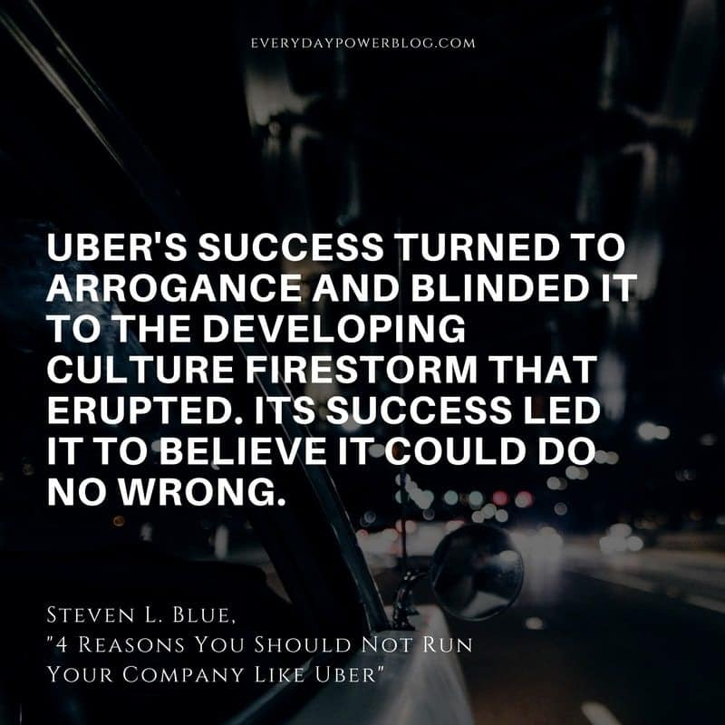 Why You Should Not Run Your Company Like Uber